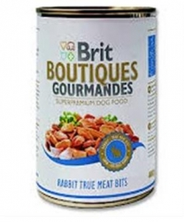 Brit Boutiques Gourmandes Rabbit True Meat Bits - 400 g