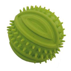 Míč z tvrdé gumy pískací 8cm dental - SLEVA 30%