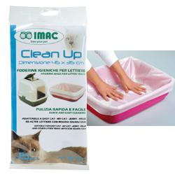Sáčky Clean Up do kočičích toaletek 6ks