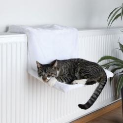 Závěsné odpočívadlo pro kočky na topení světlé