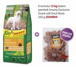 Kiramore Dog medium Adult Maintenance 15kg+Snack