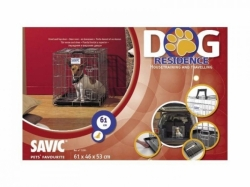 Klec do auta Dog Residence 61x46x53cm Savic