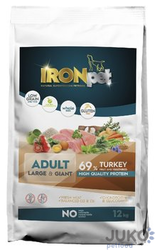 IRONpet TURKEY Large & Giant Adult 12kg