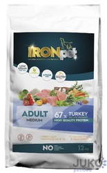 IRONpet TURKEY Medium Adult 12kg