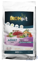 IRONpet BEEF Mini Adult 12kg