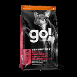 Petcurean GO! Sensitivities LID Salmon 10 kg