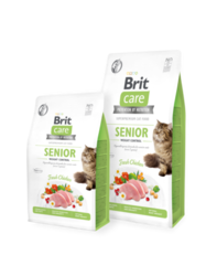 Brit Care Cat Grain-Free SENIOR AND WEIGHT CONTROL 400 g