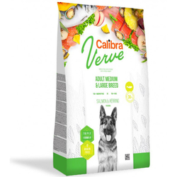 Calibra Dog Verve GF Adult M&L Salmon&Herring 12kg + doprava zdarma