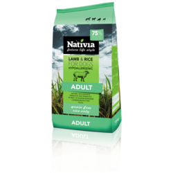 Nativia Adult lamb&rice 3kg