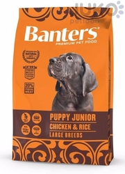 Banters Puppy junior LARGE BREEDS 15kg