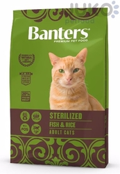Banters Adult cat STERILIZED Fish with Rice 8kg