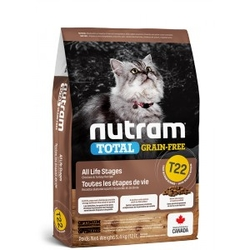 Nutram Total Grain Free Turkey, Chicken & Duck Cat 5,4 kg