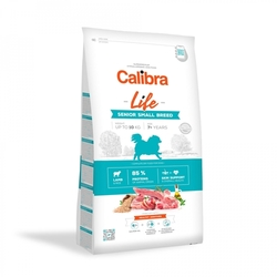 Calibra Dog Life Senior Small Breed Lamb 6kg