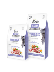 Brit Care Cat Grain-Free STERILIZED AND WEIGHT CONTROL 2kg