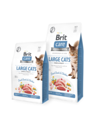 Brit Care Cat Grain-Free LARGE CATS POWER AND VITALITY 7kg