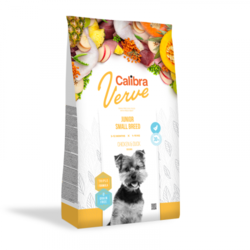 Calibra Dog Verve GF Junior Small Chicken&Duck 1,2kg