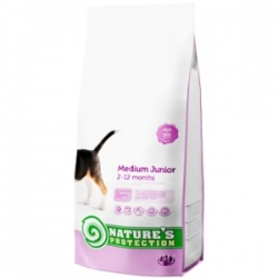 NATURES PROTECTION MEDIUM JUNIOR 7,5KG