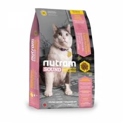 Nutram Sound Adult/Senior Cat 6,8 kg