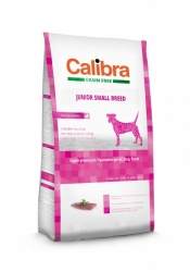 Calibra Dog Grain Free Junior Small Breed / Duck & Potato 2KG