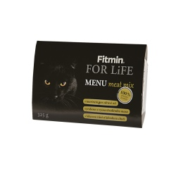 Fitmin cat MENU meat mix 325g / 8ks v balení