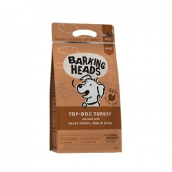 Barking Heats Top Dog Turkey 2kg