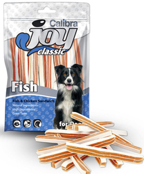 Calibra Joy Classic Fish & Chicken Sandwich 80g