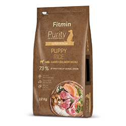 Fitmin dog Purity Rice Puppy Lamb&Salmon
