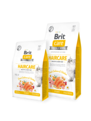Brit Care Cat Grain-Free HAIRCARE HEALTHY AND SHINY COAT 400g
