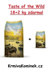 Taste of the Wild High Prairie 18+2kg + DOPRAVA ZDARMA