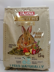 Dajana – COUNTRY MIX EXCLUSIVE, králík 1 500 g