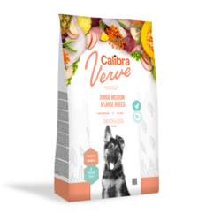 Calibra Dog Verve GF Junior M&L Chicken&Duck 12kg + doprava zdarma