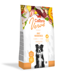 Calibra Dog Verve GF Adult Medium Chicken&Duck 12kg + doprava zdarma