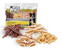 Calibra Joy Multipack Fish & Chicken Mix 4x70g