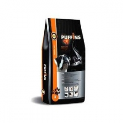 PUFFINS Adult Lamb&Rice 15 kg