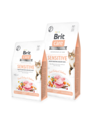 Brit Care Cat Grain-Free SENSITIVE HEALTHY DIGESTION AND DELICATE TASTE 400g