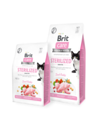 Brit Care Cat Grain-Free STERILIZED SENSITIVE 400g