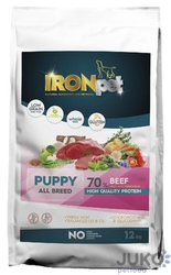 IRONpet BEEF Puppy All Breed 12kg
